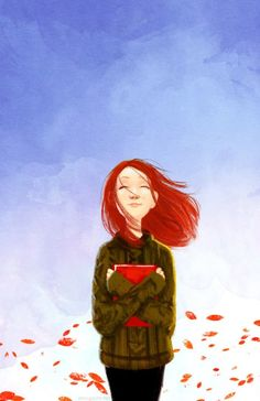 Many sensations are enclosed in reading! / Cuántas sensaciones se encierran en la lectura! (ilustración de Erin McGuire)