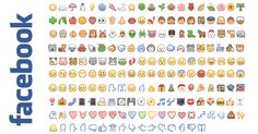 Facebook has  always been very strict about the formatting it allows its users to do on the text  that composes their posts. However,  there is a small set of symbols called Emoji  Emoticons that, when  pasted into Facebook's status and chat boxes, are transformed into colorful images!