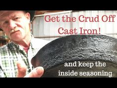 Clean the Outside of Cast Iron Without Losing Inside Seasoning Cast Iron Care, Cast Iron Pot, Cast Iron Skillet, Cast Iron Cooking, It Cast, Skillet Cooking, Iron Skillet Recipes, Cast Iron Recipes, Iron Skillet Cleaning