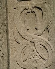 Detail of churchyard stone at Aberlemno, Angus Ancient Symbols, Ancient Artifacts, Scotland History, Celtic Culture, Archaeological Finds, Ancient Mysteries, Celtic Art, Celtic Designs, Picts