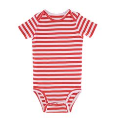the stripe babysuit - Only from Primary - Solid color kids clothes - No logos, slogans, or sequins - All under $25