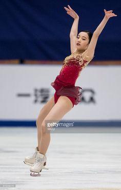 ニュース写真 : Marin Honda of Japan compete in the Ladies Free...