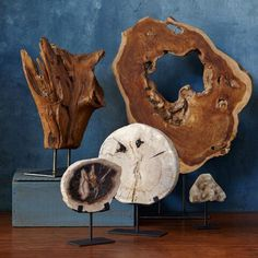 This unique decorative item is made from Indonesian driftwood mounted on an iron stand. No two are alike in shape, ensuring that this unique piece will be a keepsake for years to come.