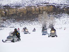 Saddleback Ranch | Snowmobiling | Steamboat Springs, Colorado