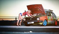 VW Golf MK2 CL Ratte Hoodride | Flickr - Photo Sharing!