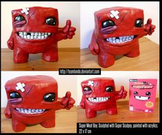 #supermeatboy sculpture art | by teamlando