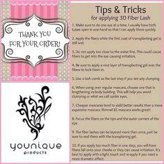 Tips and Tricks for the 3D Fiber Lash Mascara