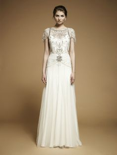 If I ever get married...this is it! <3 Jenny Packham