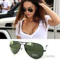 ¿Buscas un modelo de gafas que no pase de moda? ¡Apuesta por las aviator! ¿Te gustan estas Twist? Cómodas y económicas   #MeganFox