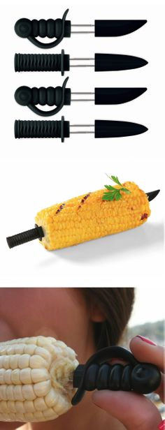 Ninja Sword Corn Skewers