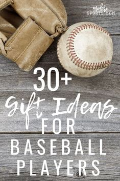 Awesome gift ideas for the baseball player, or any sports fan in your life. These are great for the holidays, or anytime! #baseball #giftideas