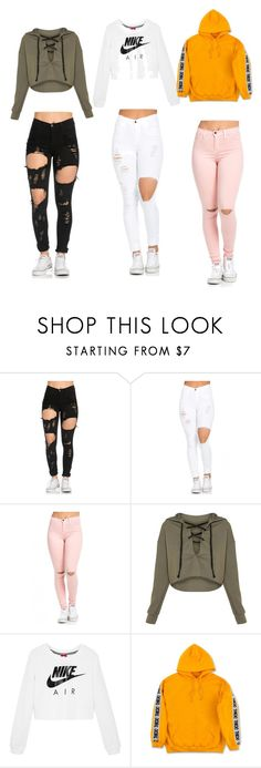 """Untitled #15"" by carolinevcm on Polyvore featuring NIKE"