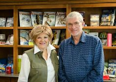 Kay Arthur of Precept Ministries and Ken Ham of Answers in Genesis.  Two of our Favorite speakers.♡