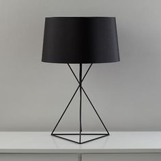 isosceles table lamp. also available in yellow. 89.