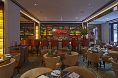 Spivak Architects - The Mark Restaurant by Jean Georges. The Bar.