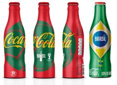 Packaging Design - Coca Cola World cup - food in PROGRESS
