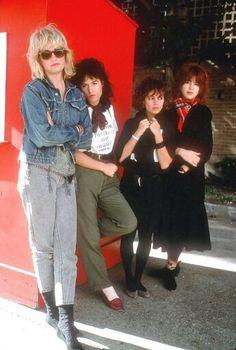 The Bangles, 1984.