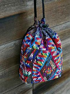Unique Batik Chichi Bucket Bag