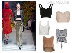 How to wear bare midriff tops this Spring