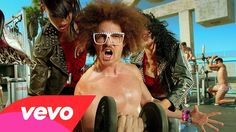 LMFAO - Sexy and I Know It,,,Umm..so glad I can't see his body but song is fun and keeps you going.