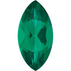 4x2mm Marquise Faceted Chatham Created Emerald