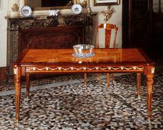 Antique Interior, Marquetry, Cabinet Makers, Louis Xvi, Dining Table, Interior Design, Antiques, Wood, Classic