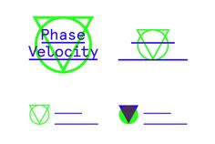 Phase Velocity is a record label based in Nottingham. The branding is based on simple geometric shapes. The circle and the triangle are formed from the negative space created by the P and V. These shapes, together with the 2 lines, form a flexible identity for the label that can be easily identified without the name through shapes and overprinting colours including fluorescent green. #logo #branding #identity