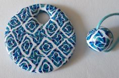Feltabulous: Latest polymer clay jewellery experiments