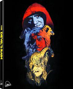 THE DEVIL'S RAIN LIMITED EDITION BLU-RAY SLIPCOVER (SEVERIN FILMS)