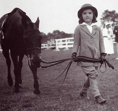 Jacqueline bouvier kennedy - loved and rode horses since she was very young.