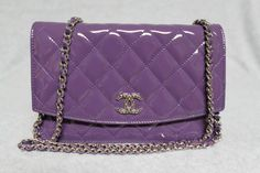 I want this Chanel bag! Purple is my fave color.