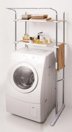 Rakuten: The Dead Space On The Washing Machine As Storage Space Utilization  Cough Sui Washing Machine Rack SSR 40 10P28oct13  Shopping Japan.