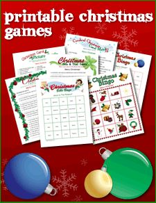 If you enjoy Christmas, fun, trivia and games, then these Christmas printable games are ideal for you, your family and friends to play once the...