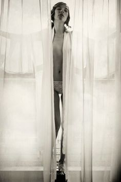 "Saatchi Online Artist Myscha Oréo; Photography, ""Kimono Black&White"" #art"