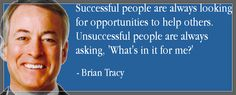 Brian Tracy on opportunity **These Brian Tracy programs will change your life. Brian Tracy Quotes, Favorite Quotes, Best Quotes, Quotes To Live By, Life Quotes, Ups And Downs, Successful People, Common Sense, Get Healthy
