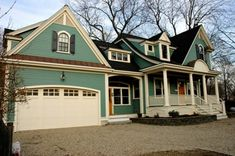 Teal house.  This is it!!  Painting the house this summer!!