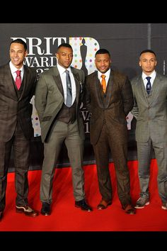 JLS boys all suited up