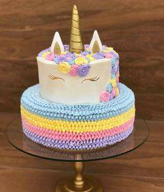 My Birthday Cake, Unicorn Birthday Parties, Unicorn Party, Girl Birthday, Unicorn Cakes, Crazy Cakes, Party Treats, Love Cake, Cute Cakes
