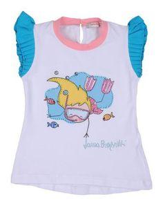 LAURA BIAGIOTTI BABY Girl's' T-shirt White 6 years