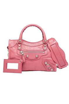 Balenciaga - Mini City Bag in Rose Balenciaga Mini City Bag 76ca8a274a127
