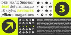 Sindelar https://www.fontshop.com/families/sindelar ist eine robuste Serif, mit großer Mittellänge und dezentem Kontrast. Beeindruckend: 9 Strichstärken (darunter 3 Regular-Grade), plus Kursiven und fast 1000 Glyphen pro Font. Sindelar ist vollgepackt mit OpenType-Features und unterstützt 110 Sprachen.