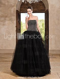 TS Couture® Prom / Formal Evening / Quinceanera / Sweet 16 Dress - Vintage Inspired Plus Size / Petite A-line / Ball Gown / Princess Strapless 2016 - $189.99