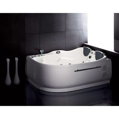 Turn Your Bathroom Into A Home Oasis With This Two Person Whirlpool  Bathtub. With