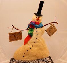 Snowman, NORTHPOLE OR MELT Snow man