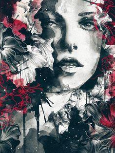 Women in Watercolor by Daryl Feril