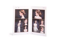 Hair trend book #claudius #krakow #drukarnia #fryzjer #book #ulotka #zdjęcia #fryzury #ślubne #materiały #promocyjne