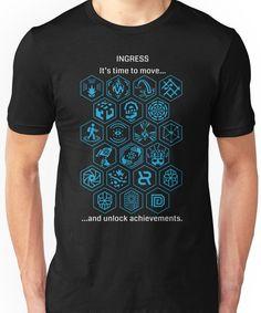 Ingress Achievements Resistance Unisex T-Shirt