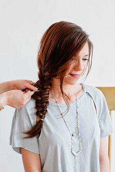 How To Use Bobby Pins to Update Your Coachella Fishtail Braid