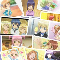 Yaya, Nadeshiko, Lulu, Utau, Ikuto, Tadase, Hikaru, Rikka, Hotaru, Amu, Ami, Yua, Kukai, Daichi, Nagihiko and Rima