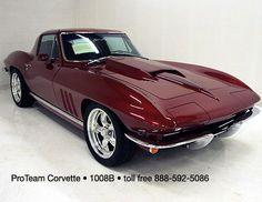 1967 Corvette Restomod   1008b 1965 corvette resto mod custom ...